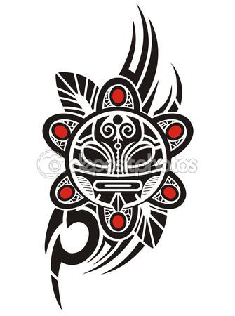13 taino sun tattoo designs. Black Bedroom Furniture Sets. Home Design Ideas