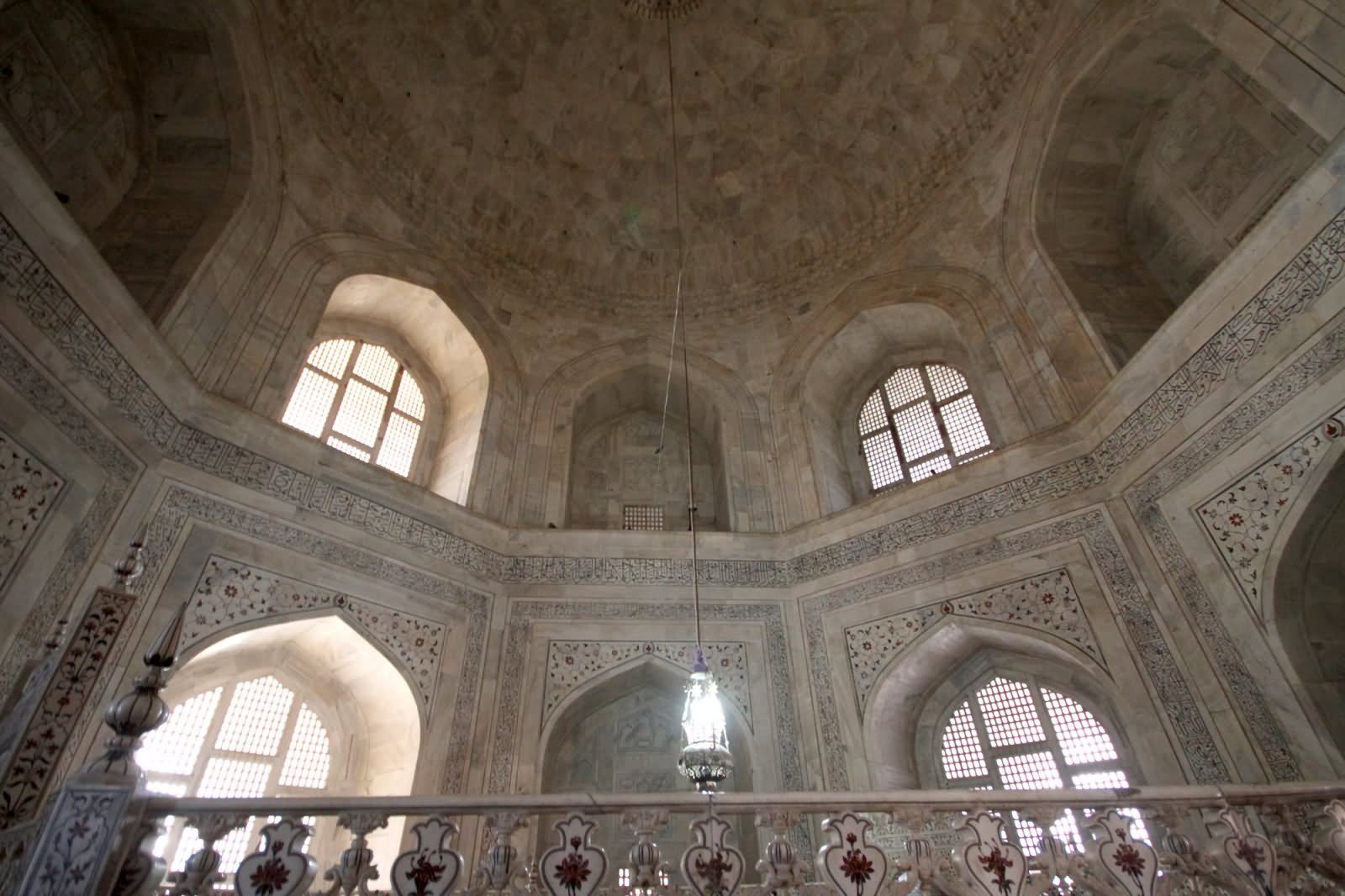 Taj Mahal Inside View