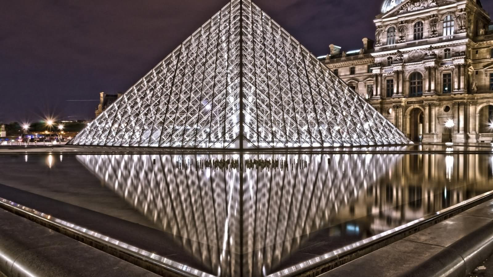 The Louvre Museum Glass Pyramid