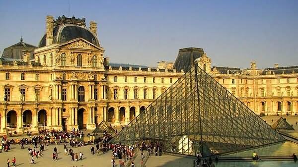 The Louvre Museum Paris Photo