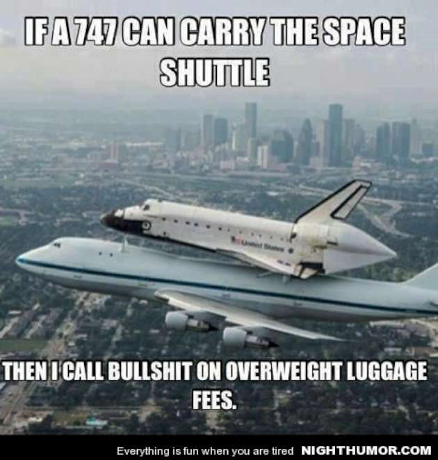 Then I Call Bullshit On Overweight Luggage Fees Funny Funny Plane Meme Picture 35 funniest plane meme pictures and photos
