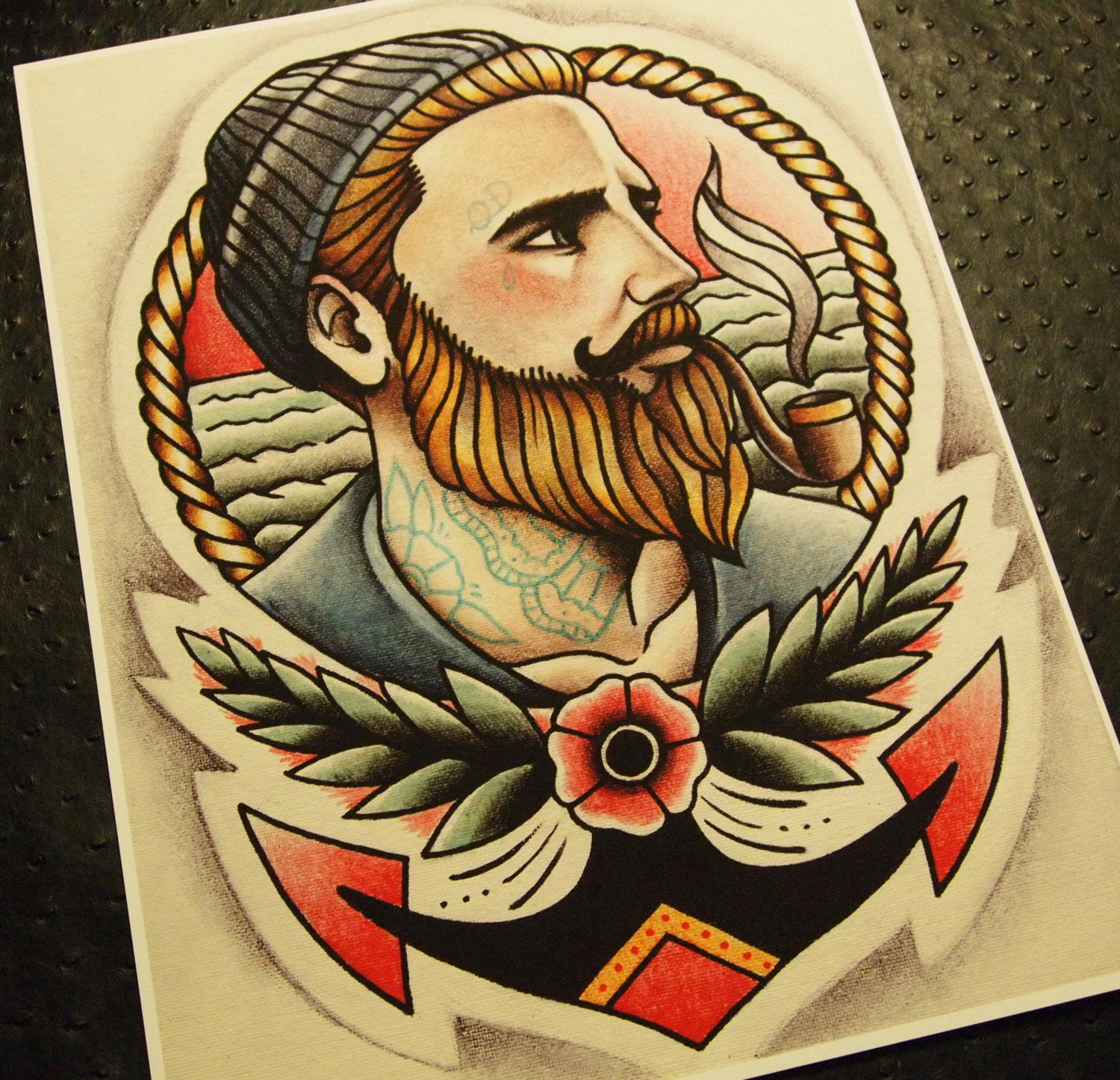 34 beautiful sailor tattoo designs and ideas for Traditional old school tattoo designs