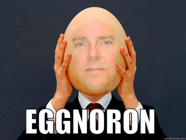 William DeVries With Egg Head Funny Picture 20 most funniest egg head pictures that will make you laugh