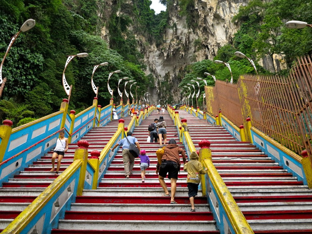 272 Steps At Batu Caves, Malasyia