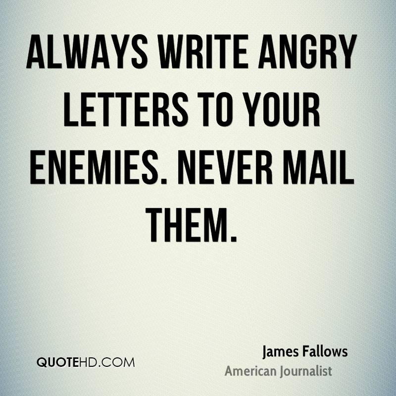 Angry wordings