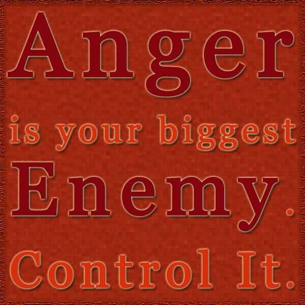 Quotes About Anger And Rage: The Enemy Is Not Fighting You Because You're Weak He's