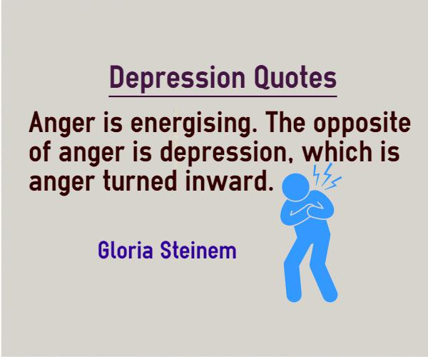 Charmant The Opposite Of Anger Is Depression, Which Is Anger Turned Inward.