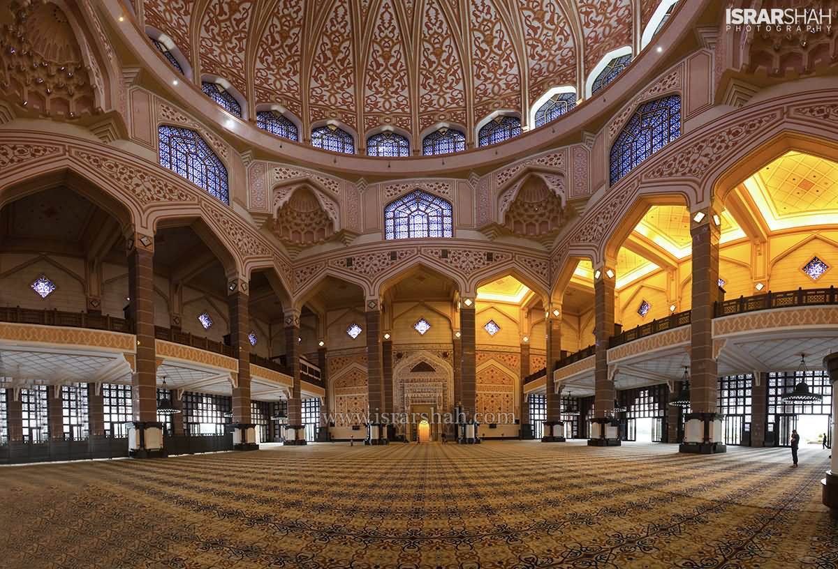 Beautiful Inside View Of Putra Mosque