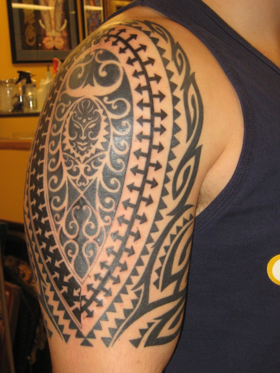 30 latest tribal mexican tattoos. Black Bedroom Furniture Sets. Home Design Ideas