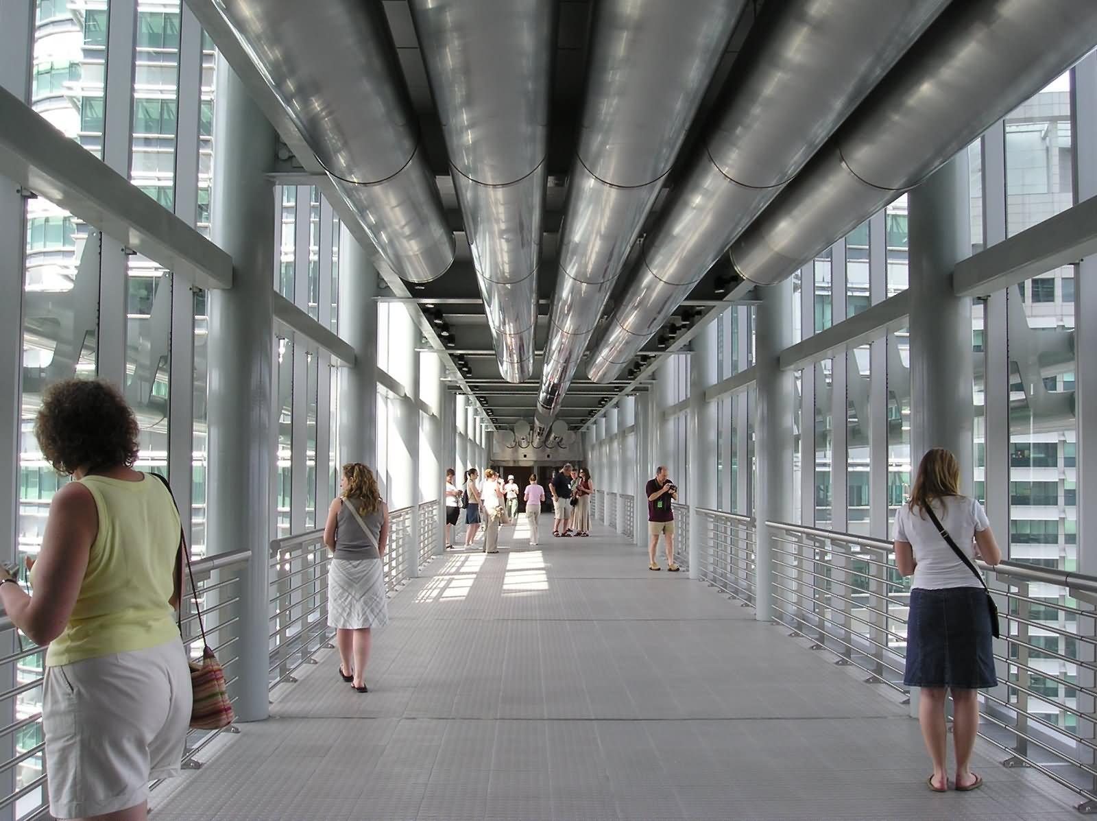 Bridge Between Petronas Towers Inside Picture