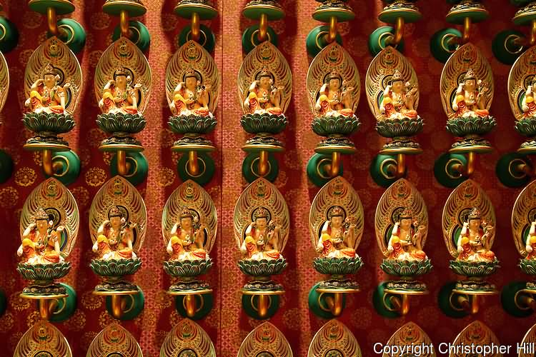 Buddha Statues Inside Buddha Tooth Relic Temple