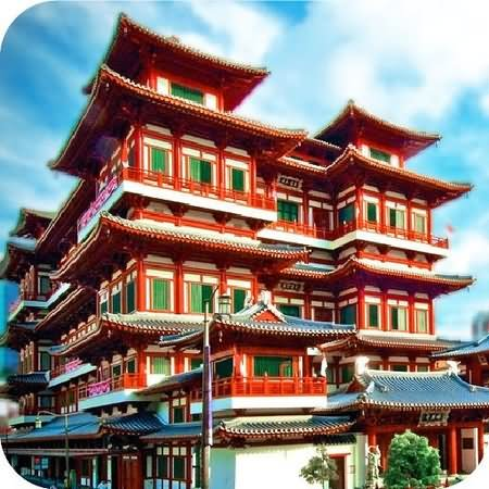 Buddha Tooth Relic Temple And Museum Picture