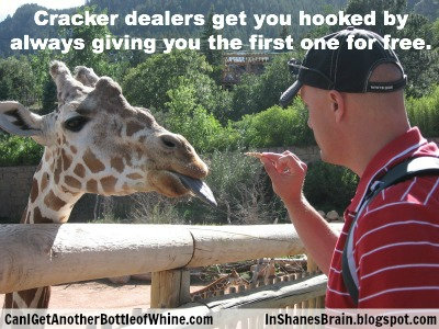 Funny Zoo Memes : Cracker dealers get you hooked by always giving you the first one