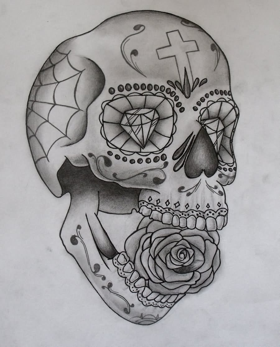 Live Life With No Regrets Tattoo Sketches Drawing Art: 21+ Awesome Mexican Tattoo Designs