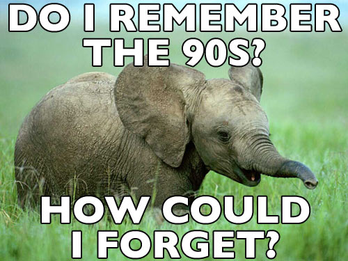 an elephant never forgets funny meme image