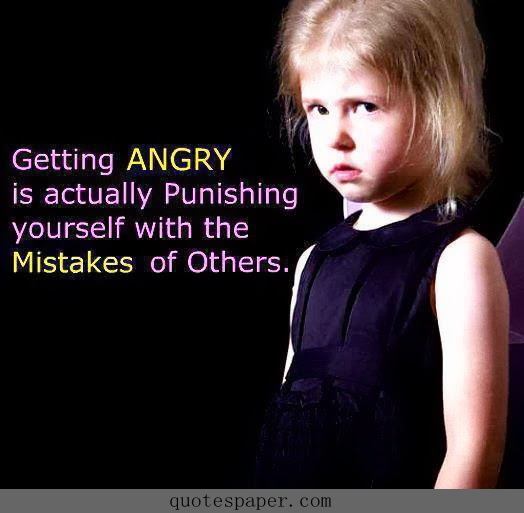 how to keep yourself from getting angry