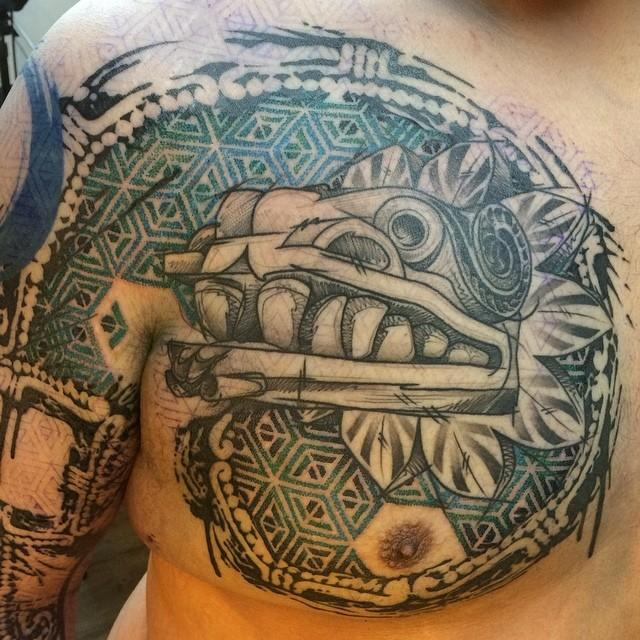32 mexican tattoos on chest. Black Bedroom Furniture Sets. Home Design Ideas