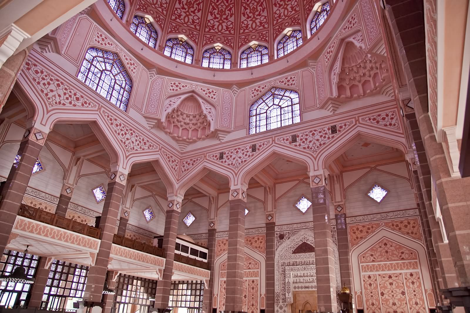 Incredible Dome Inside View Of Putra Mosque