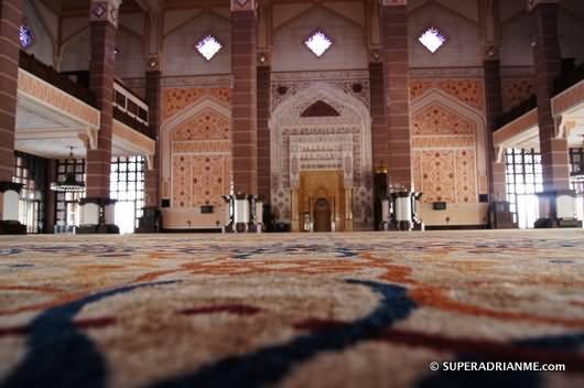 Interior Of The Putra Mosque