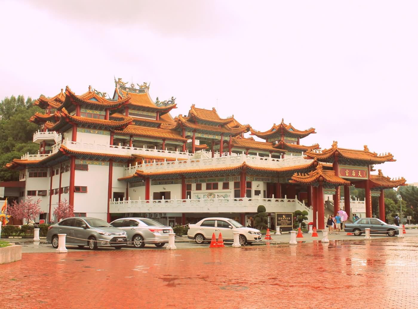 Kuala Lumpur Thean Hou Temple Exterior