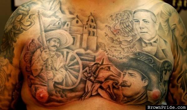 Brown Tattoos On Black People