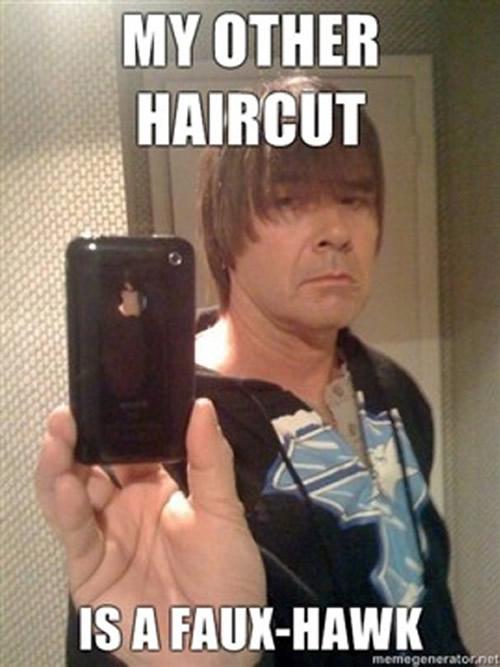Paint Brush Haircut Meme