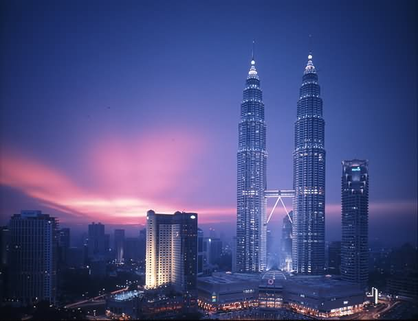 Petronas Towers Sunset View Picture