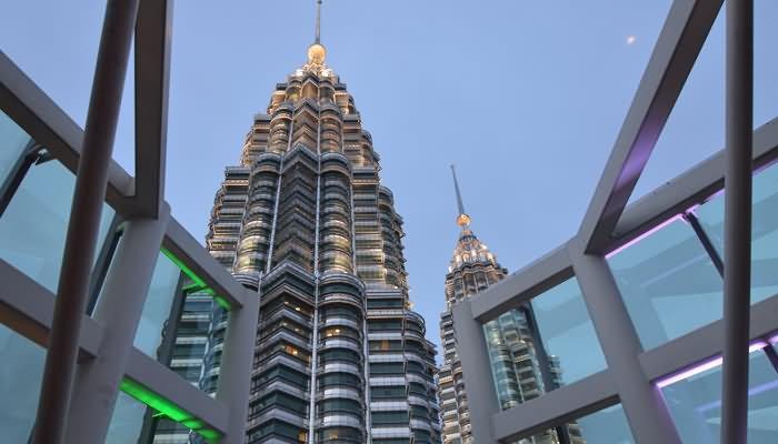 Petronas Towers View From Marin's Kuala Lumpur