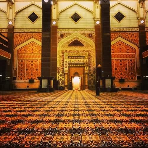 Putra Mosque Beautiful Interior Architecture