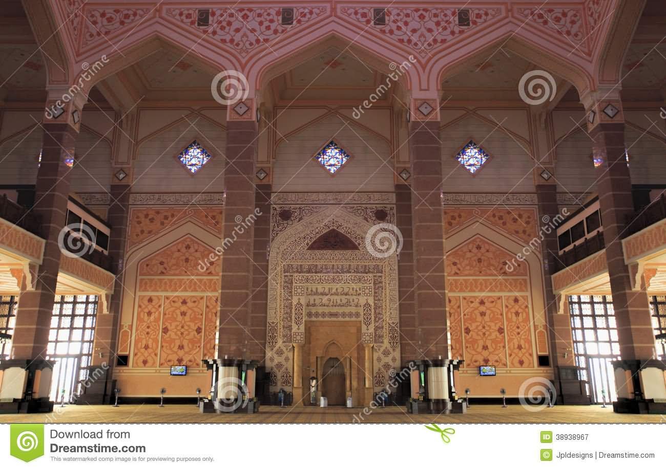 Putra Mosque Interior Architecture