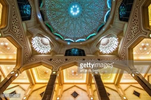 Putra Mosque Interior Dome Picture