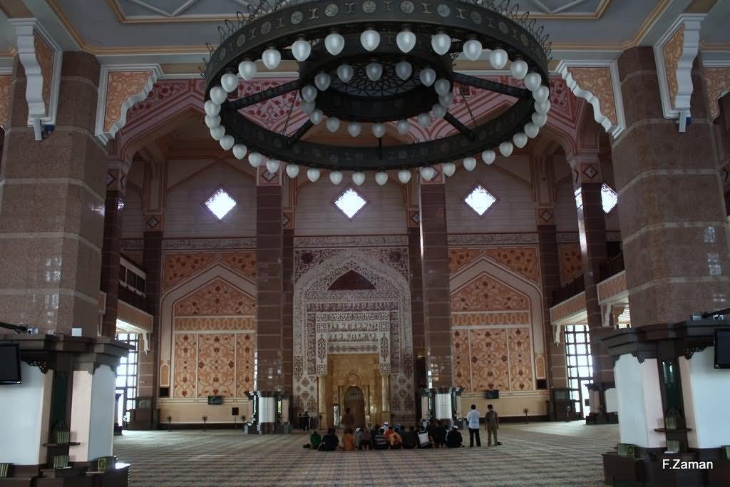 Putra Mosque Interior Image