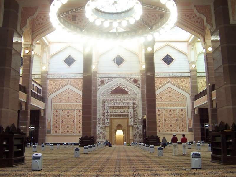 Putra Mosque Interior Picture