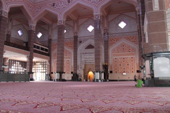 Putra Mosque, Malaysia  Inside View