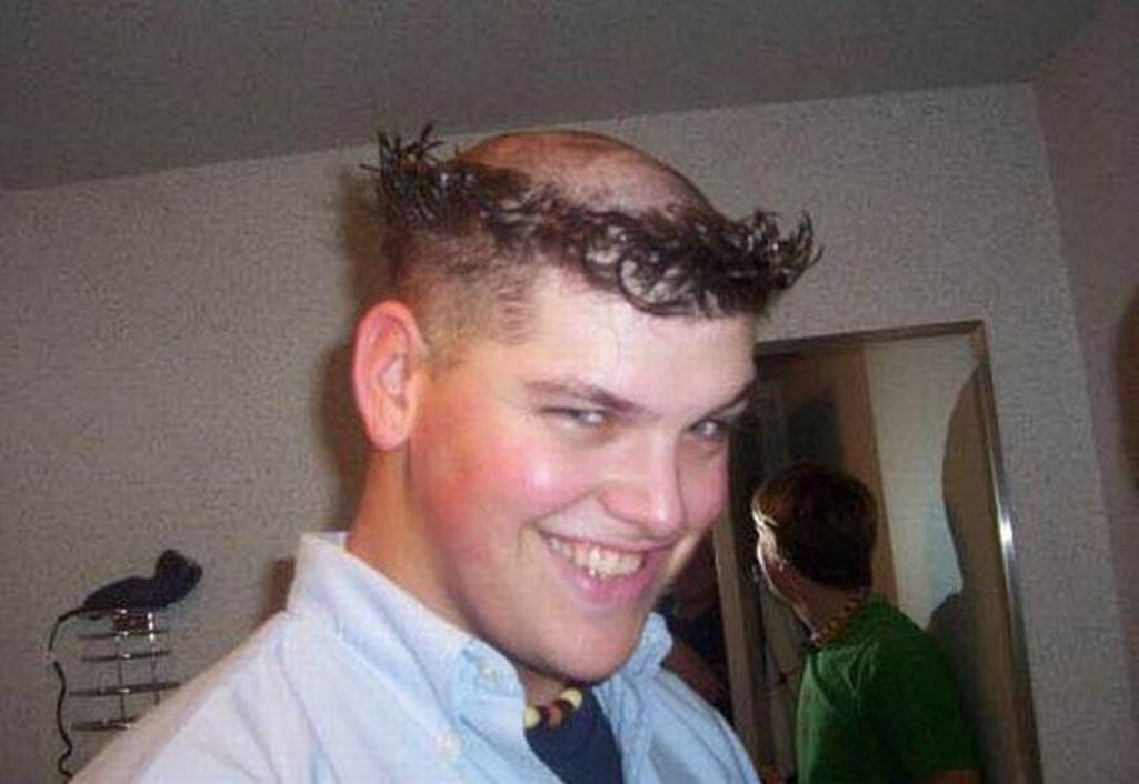 25 Most Funniest Haircut For Men Pictures That Will Make