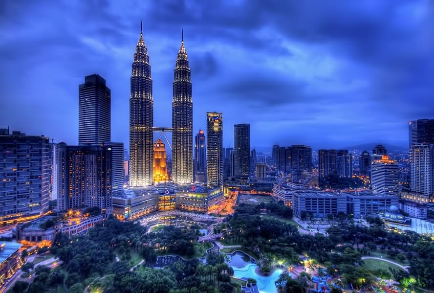 The Petronas Towers And City View