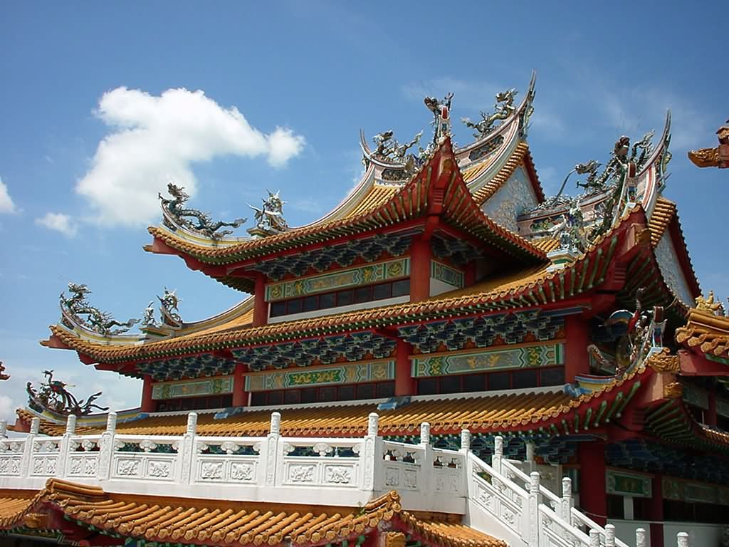 Thean Hou Temple Architecture