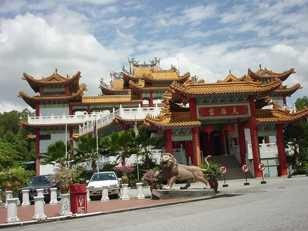 Thean Hou Temple Entrance
