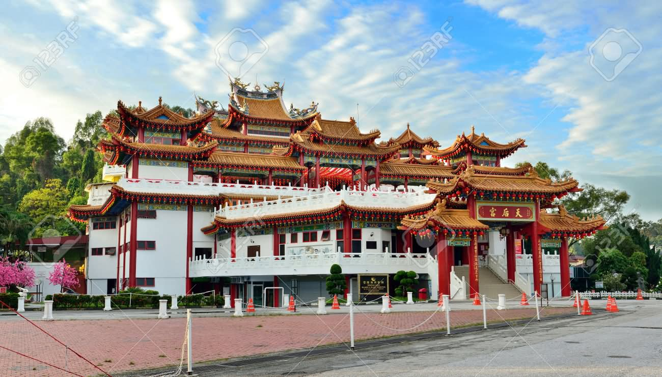 Thean Hou Temple Is One Of The Largest Chinese Temples In Malaysia