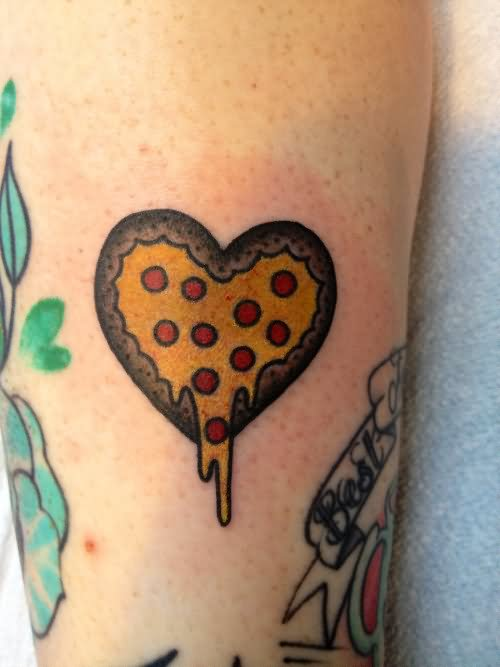 40+ Traditional Pizza Tattoos