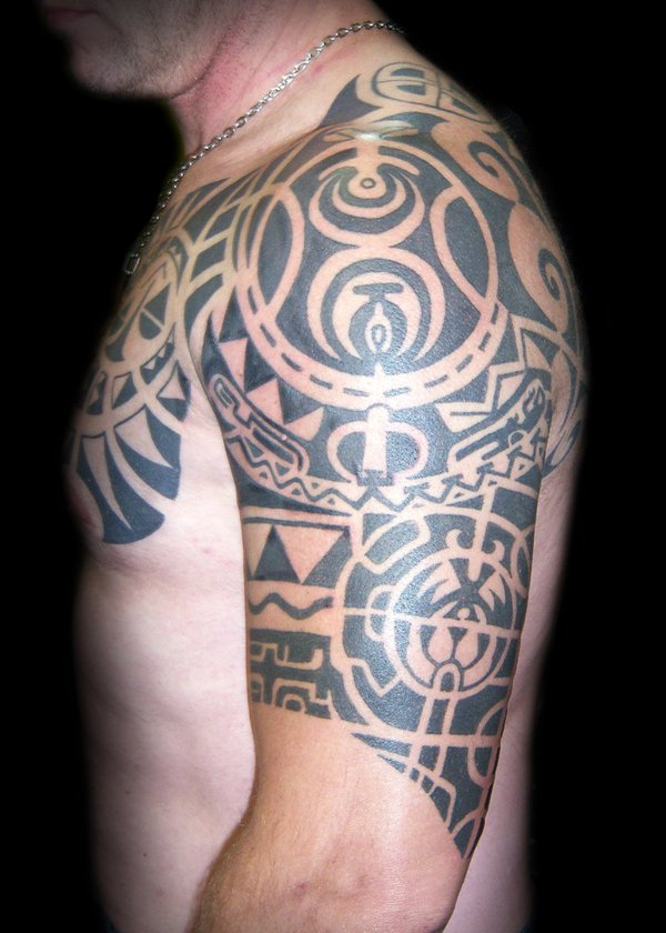 30 Latest Tribal Mexican Tattoos