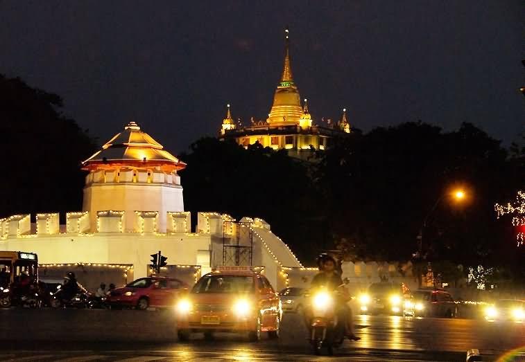 35 Very Beautiful Wat Saket Temple, Bangkok Pictures And Photos