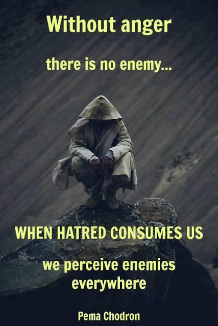 Quotes About Anger And Rage: Without Anger There Is No Enemy… When Hatred Consumes Us