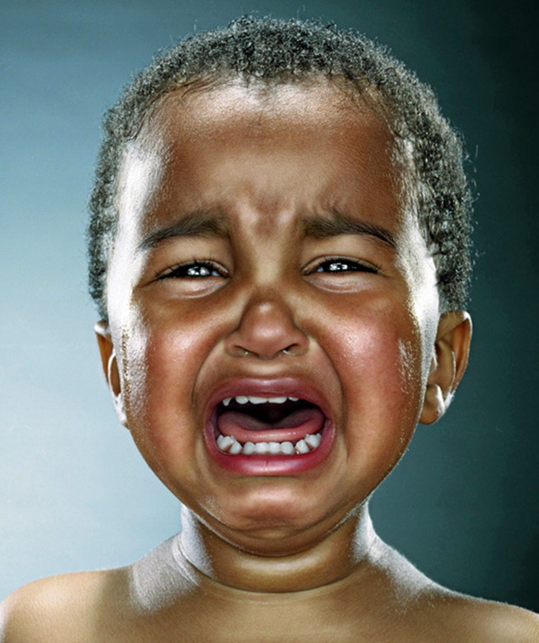 Baby Crying Face Funny Meme Photo