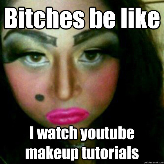 35 Most Funniest Make Up Meme Pictures And Images