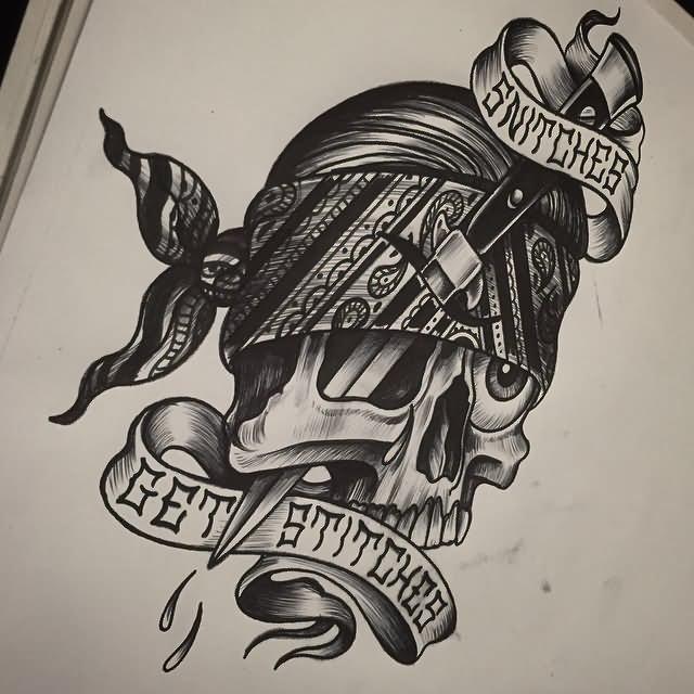 23 wonderful gangster tattoo designs. Black Bedroom Furniture Sets. Home Design Ideas