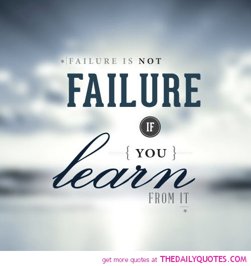 87 Most Famous Failure Quotes Sayings