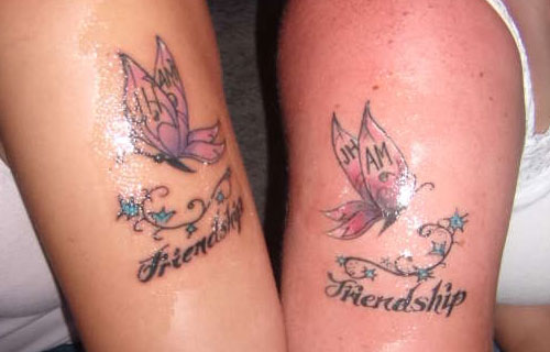 35+ Cool Friendship Tattoos