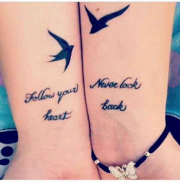 35 Cute Friendship Tattoos On Wrists