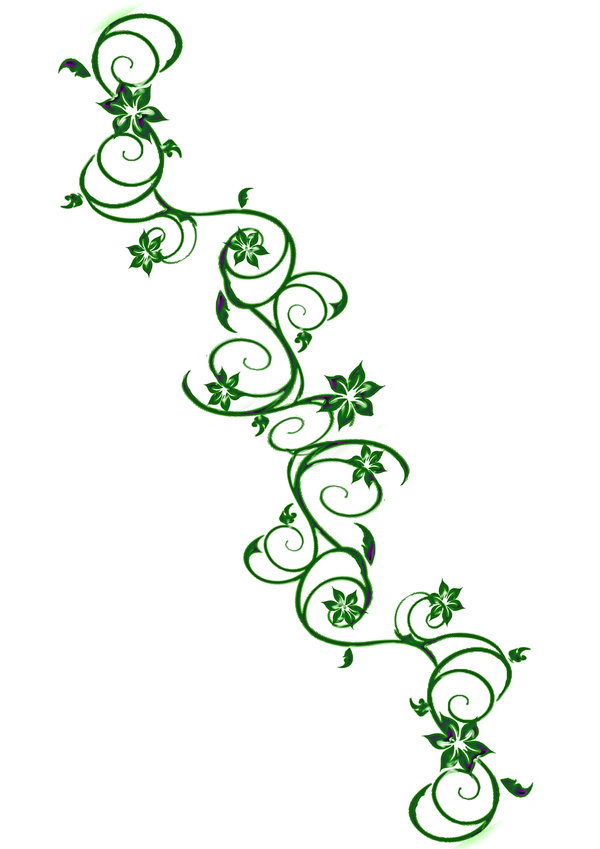 Flower Vine Tattoo Drawings Best Tattoo Ideas